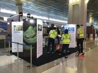 USAID BIJAK Raises Awareness of Wildlife Trafficking at Soekarno-Hatta Airport in Indonesia